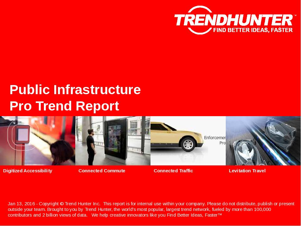 Public Infrastructure Trend Report Research