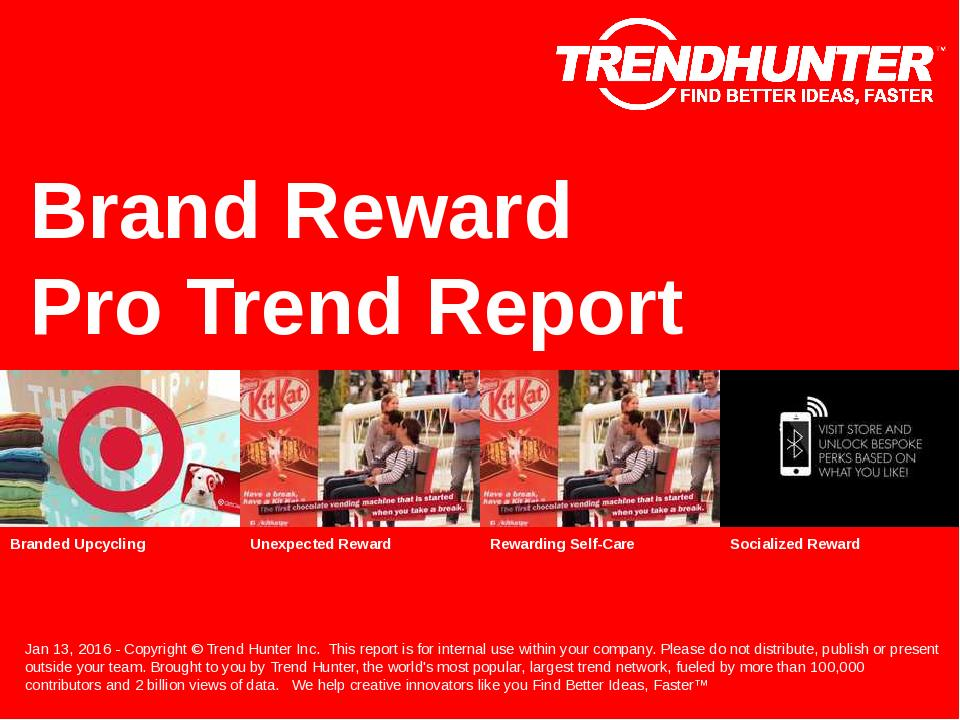 Brand Reward Trend Report Research