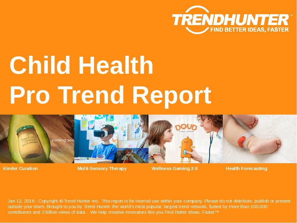 Child Health Trend Report Research