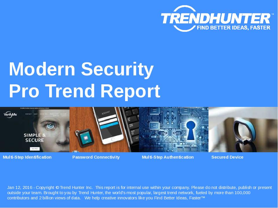 Modern Security Trend Report Research
