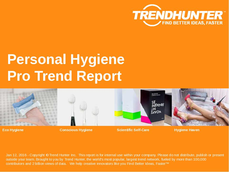 Personal Hygiene Trend Report Research