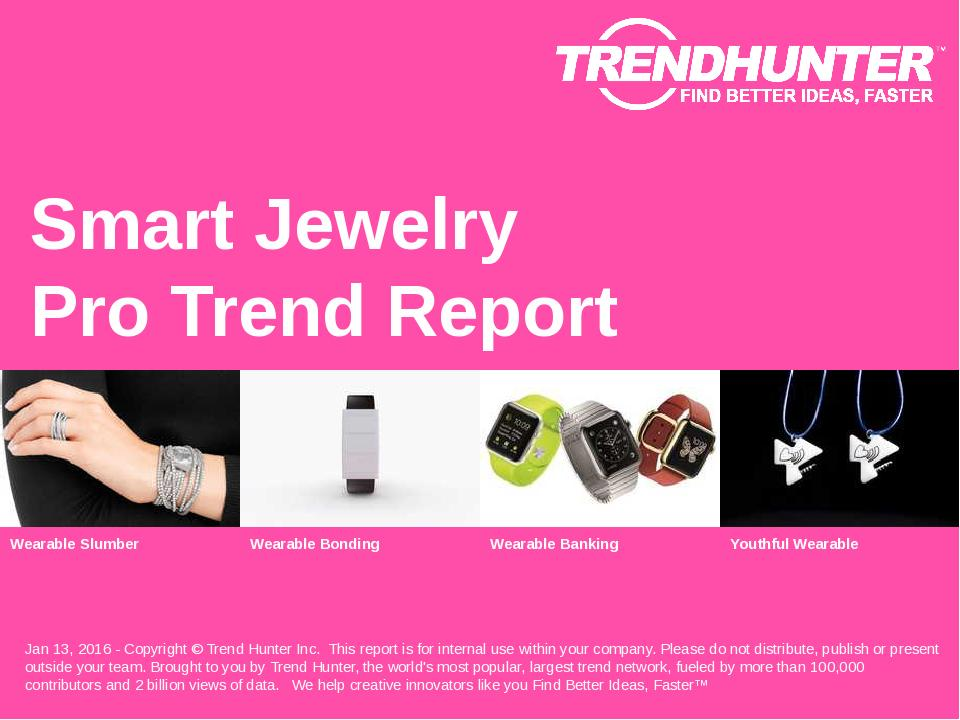 Smart Jewelry Trend Report Research