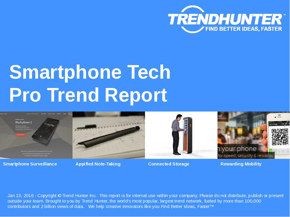 Smartphone Tech Trend Report Research