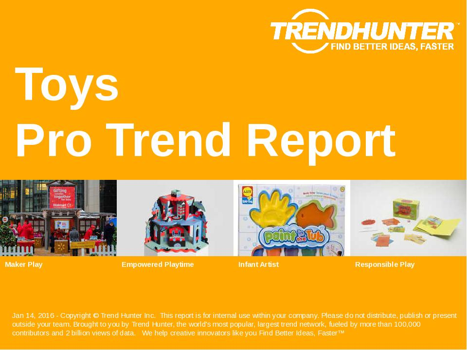Toys Trend Report Research