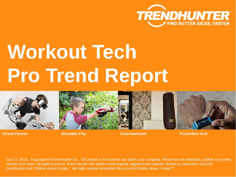 Workout Tech Trend Report Research