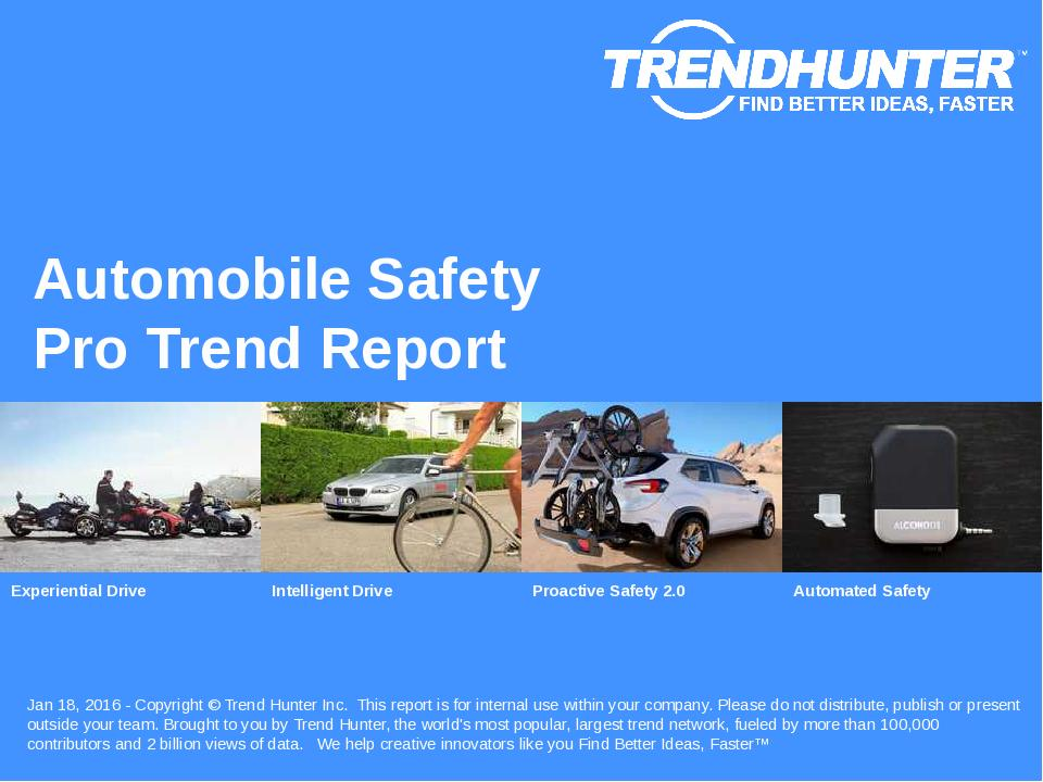 Automobile Safety Trend Report Research