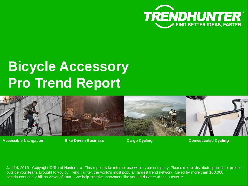Bicycle Accessory Trend Report Research