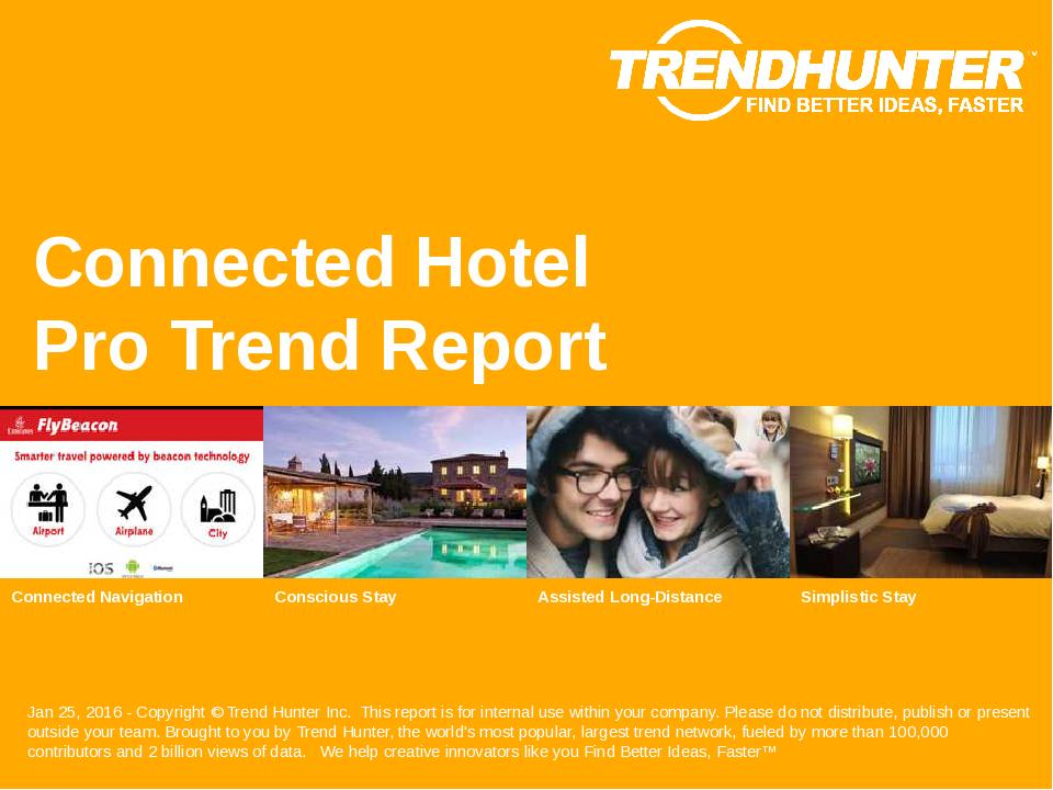 Connected Hotel Trend Report Research