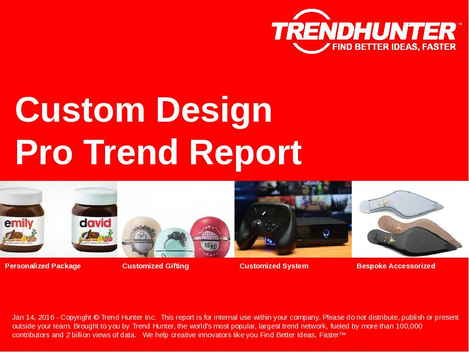 Custom Design Trend Report Research
