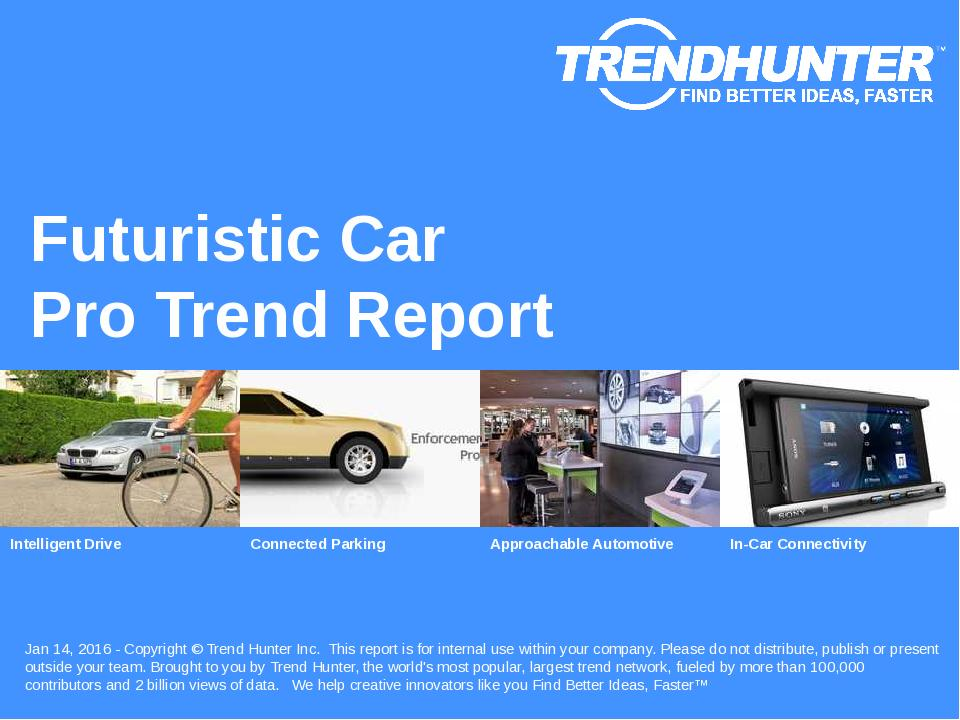 Futuristic Car Trend Report Research