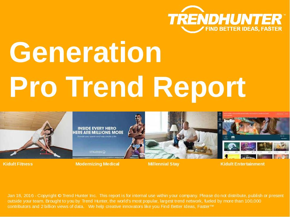 Generation Trend Report Research