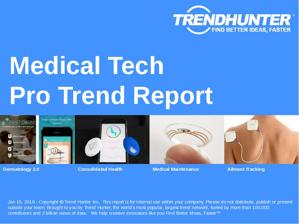 Medical Tech Trend Report Research