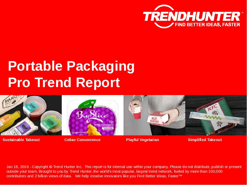 Portable Packaging Trend Report Research