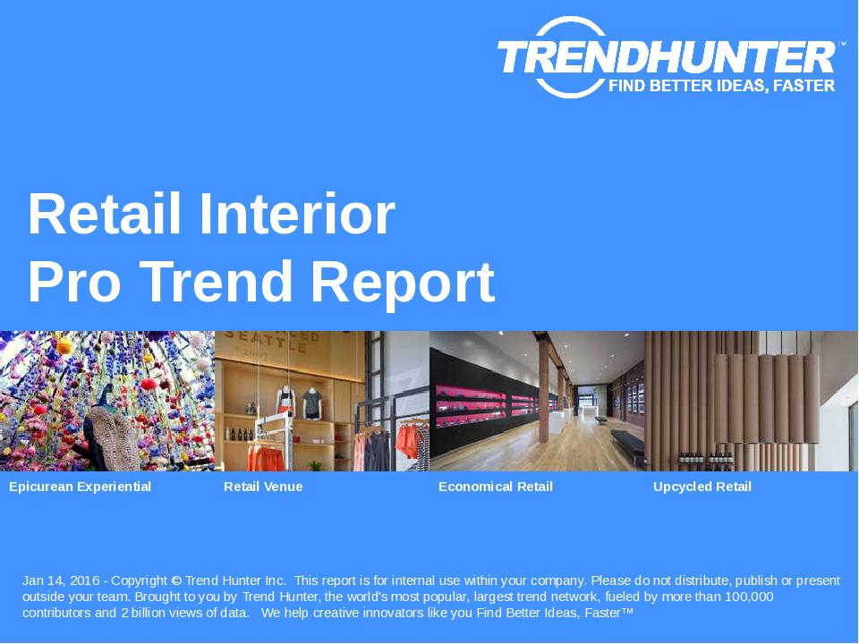 Retail Interior Trend Report Research