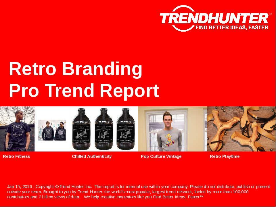 Retro Branding Trend Report Research