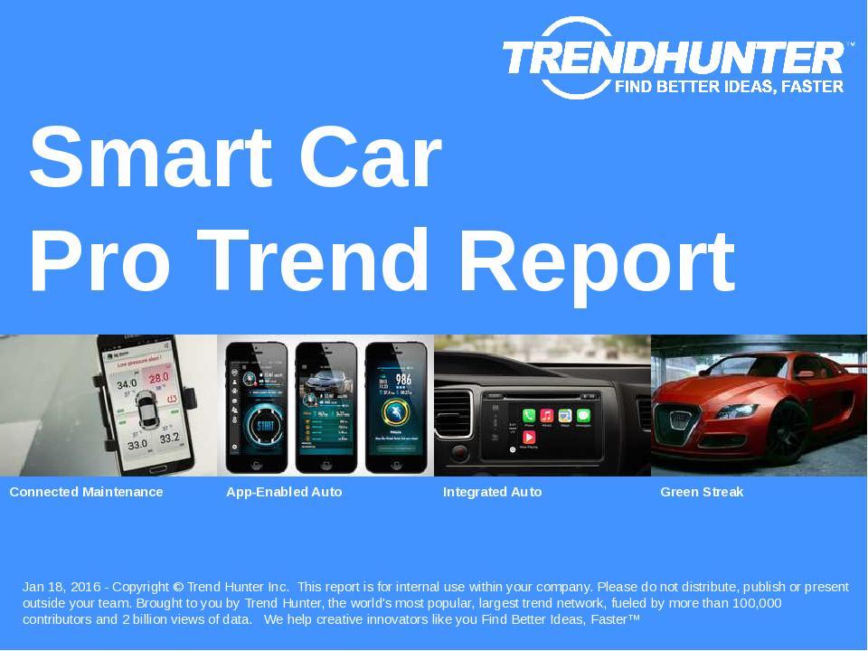 Smart Car Trend Report Research