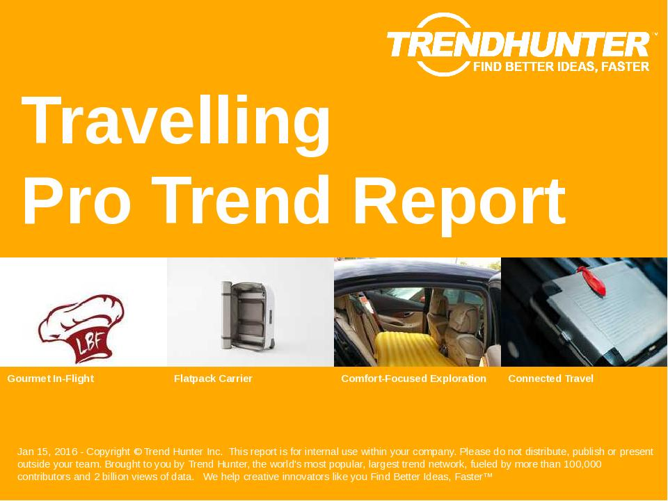 Travelling Trend Report Research