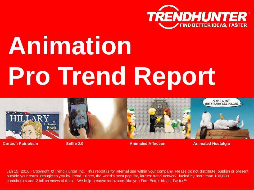 Animation Trend Report Research