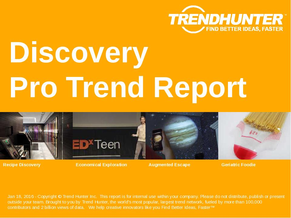 Discovery Trend Report Research