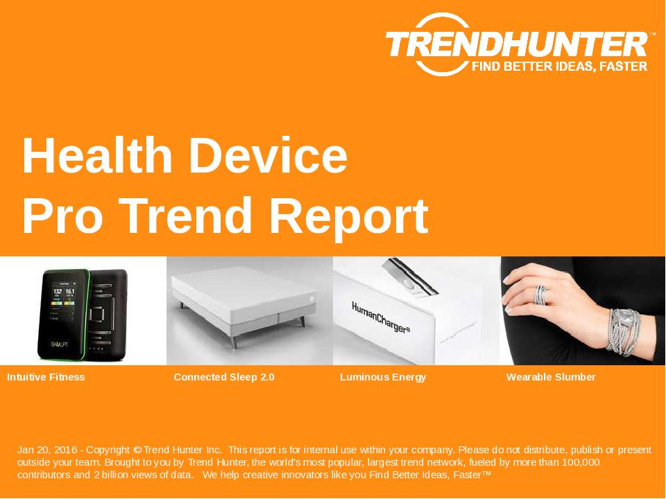 Health Device Trend Report Research