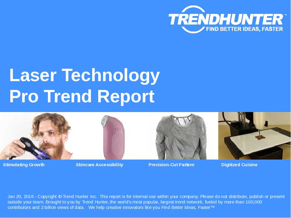 Laser Technology Trend Report Research