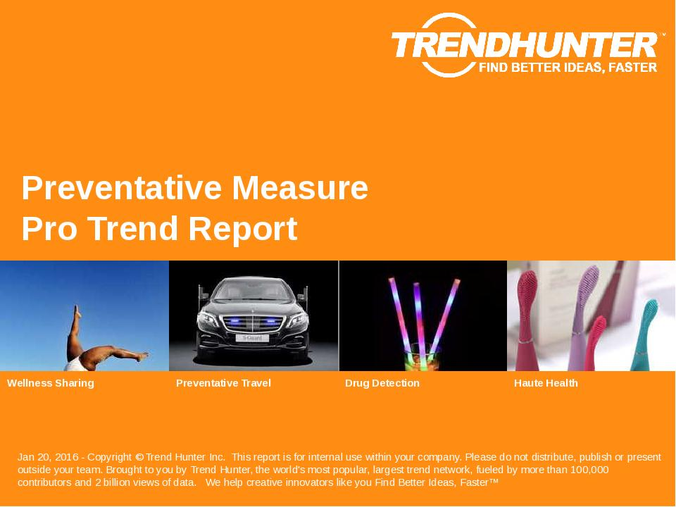 Preventative Measure Trend Report Research