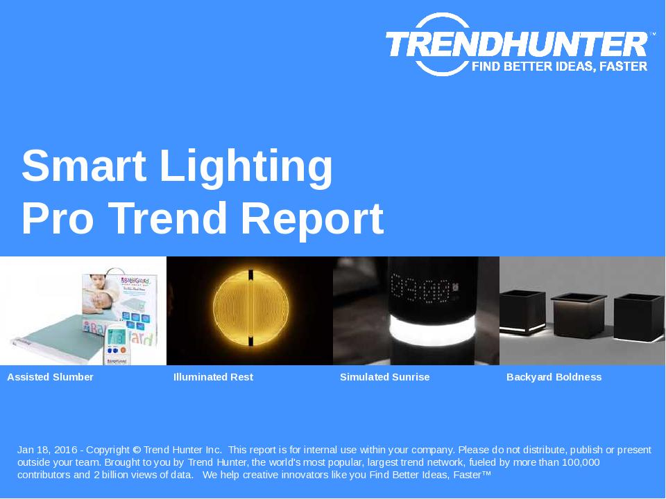 Smart Lighting Trend Report Research