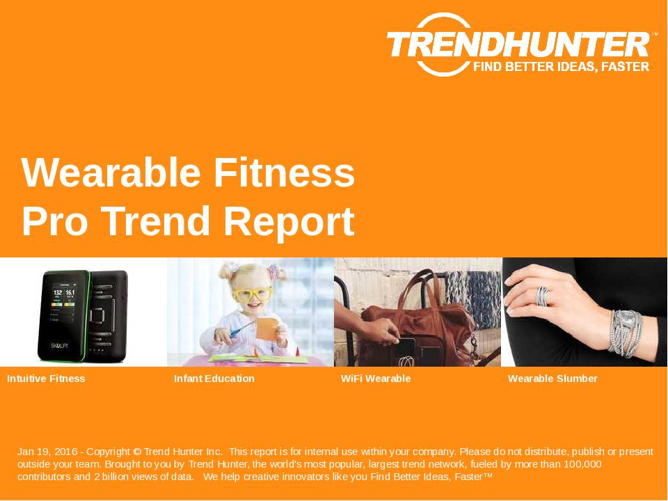 Wearable Fitness Trend Report Research