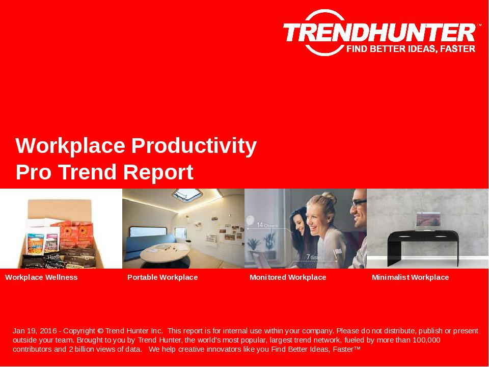 Workplace Productivity Trend Report Research