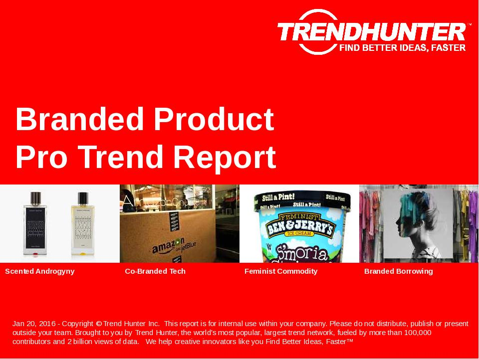 Branded Product Trend Report Research