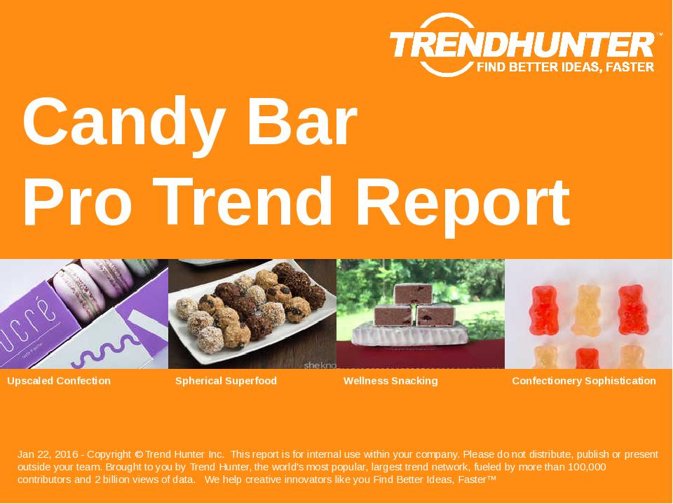 Candy Bar Trend Report Research