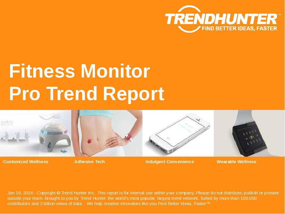 Fitness Monitor Trend Report Research