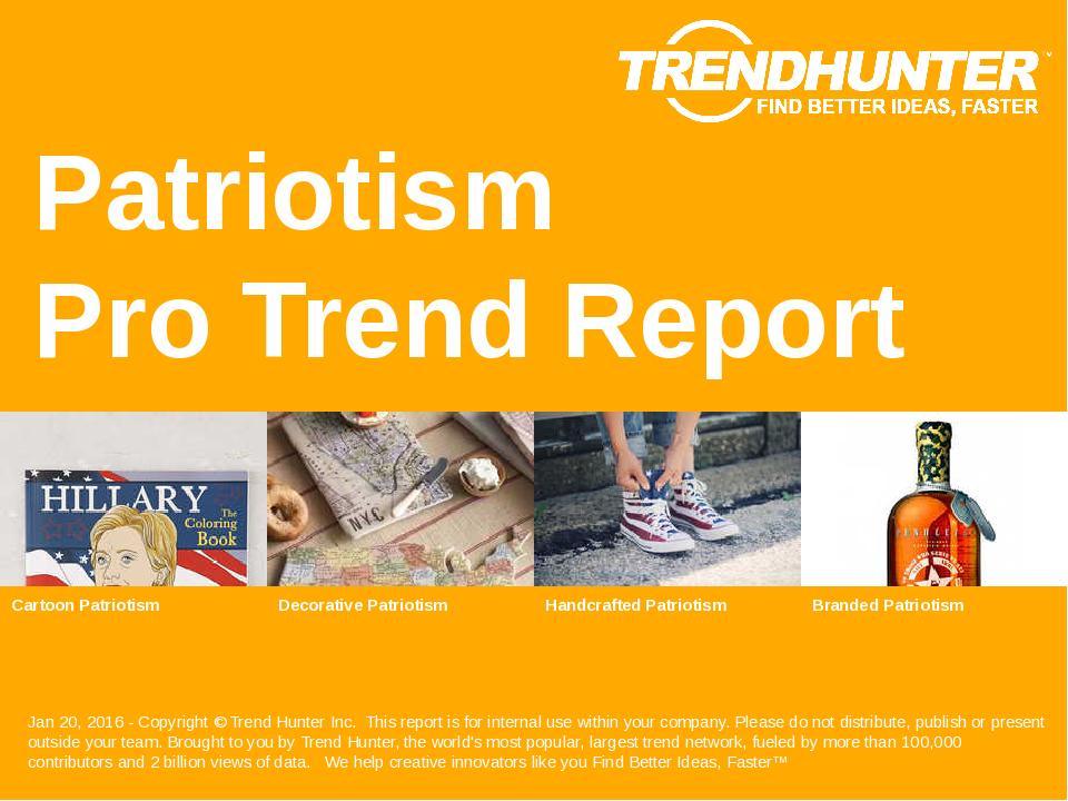 Patriotism Trend Report Research