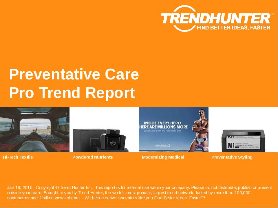 Preventative Care Trend Report Research