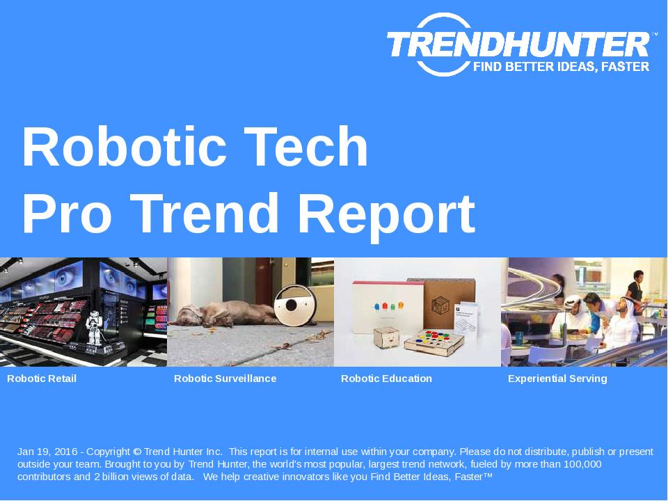 Robotic Tech Trend Report Research