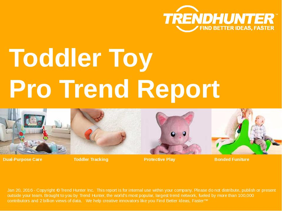 Toddler Toy Trend Report Research