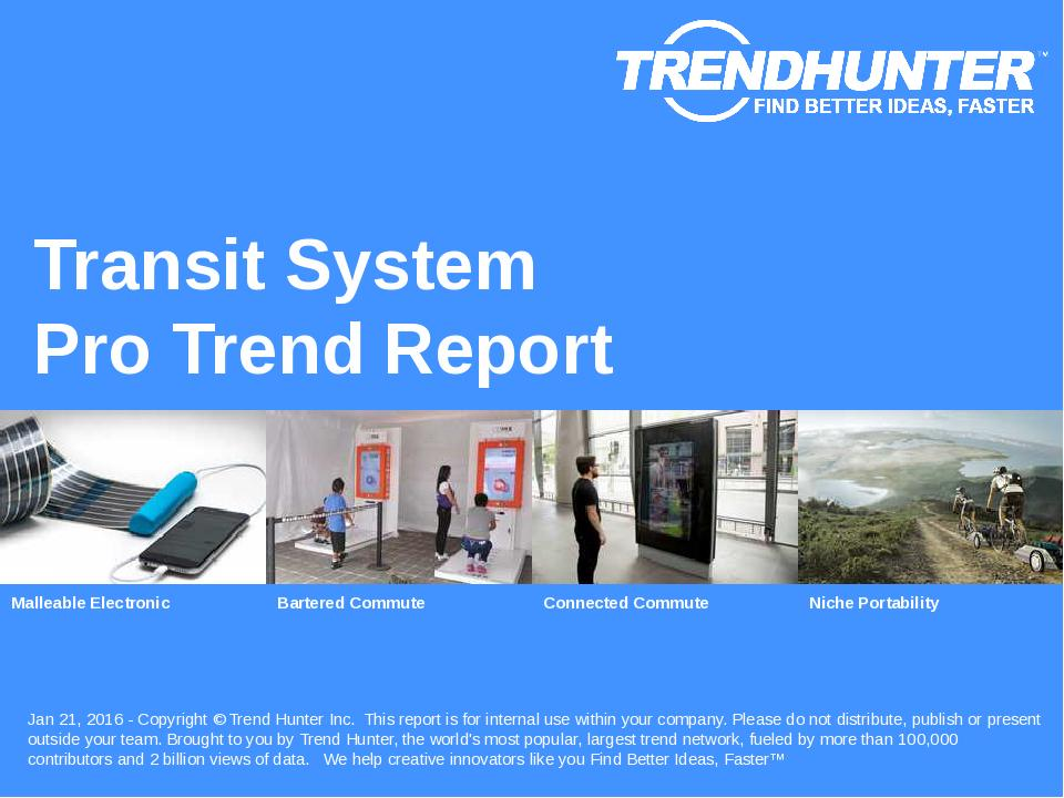 Transit System Trend Report Research