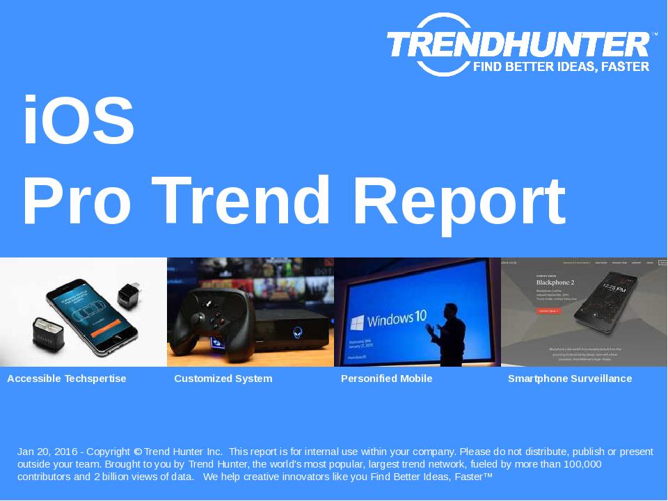 iOS Trend Report Research