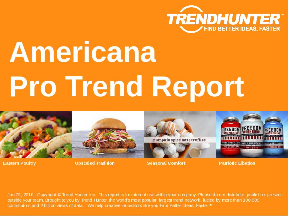 Americana Trend Report Research