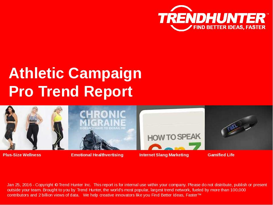Athletic Campaign Trend Report Research