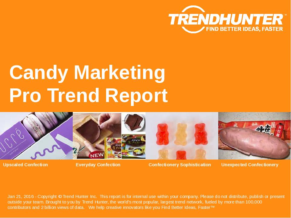Candy Marketing Trend Report Research