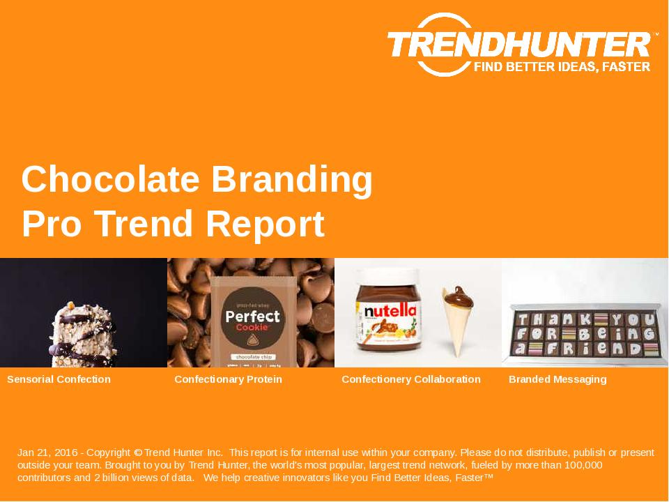 Chocolate Branding Trend Report Research