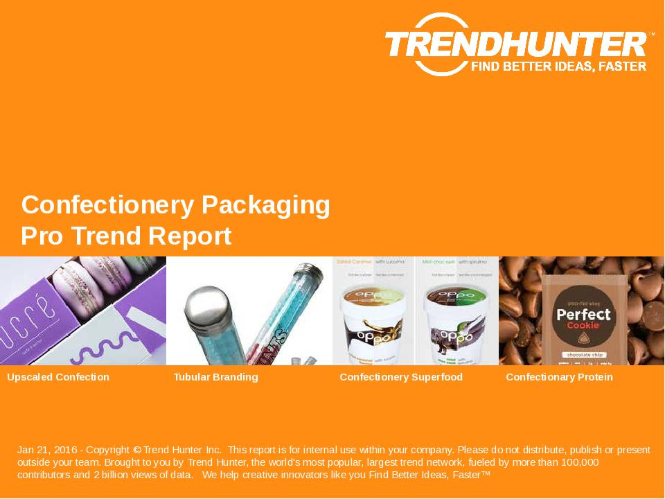 Confectionery Packaging Trend Report Research