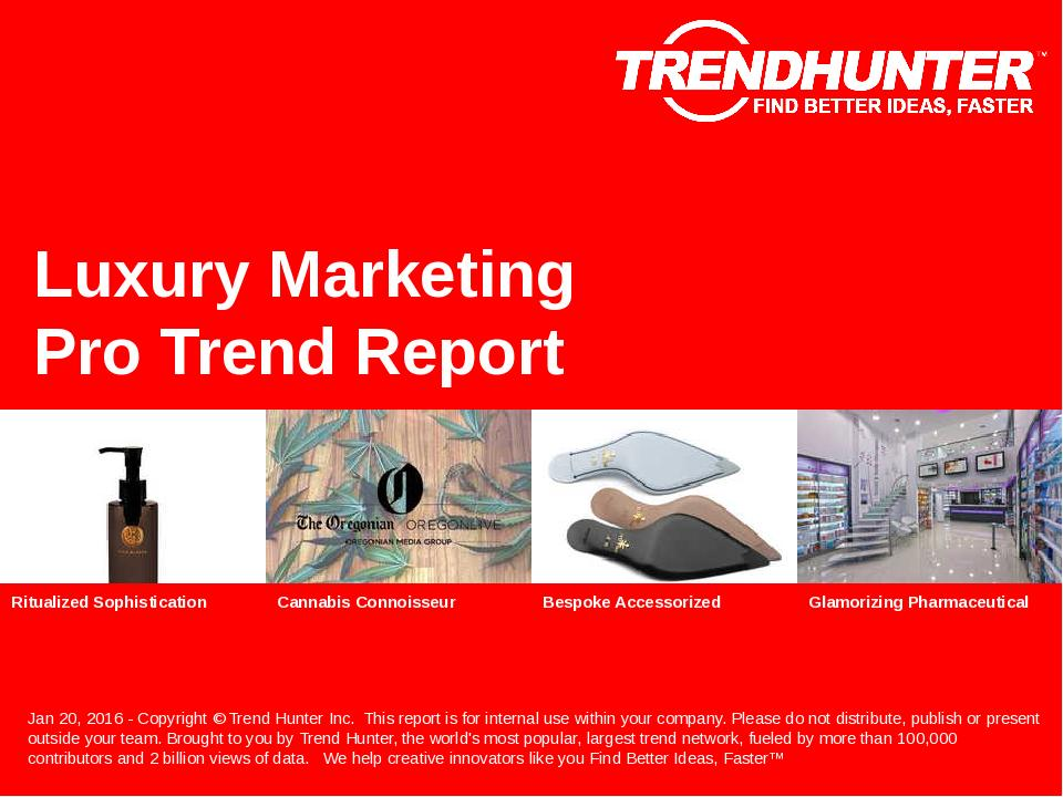 Luxury Marketing Trend Report Research