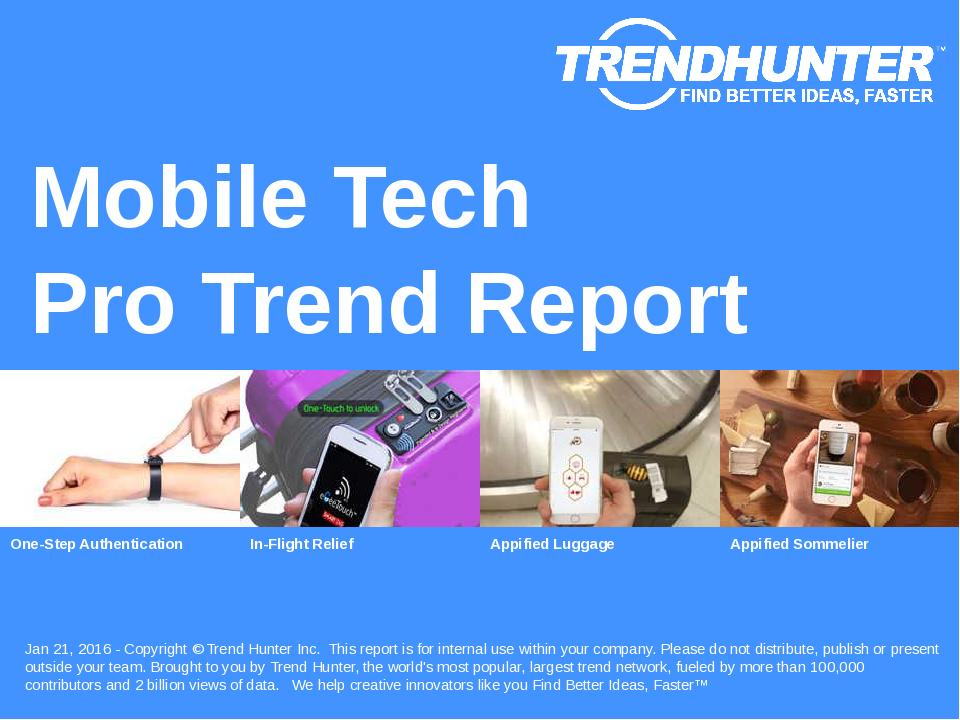 Mobile Tech Trend Report Research