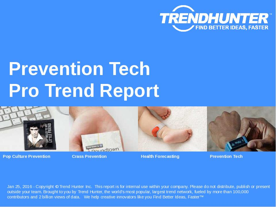 Prevention Tech Trend Report Research