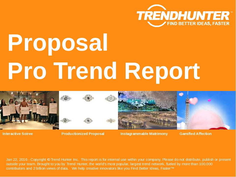 Proposal Trend Report Research