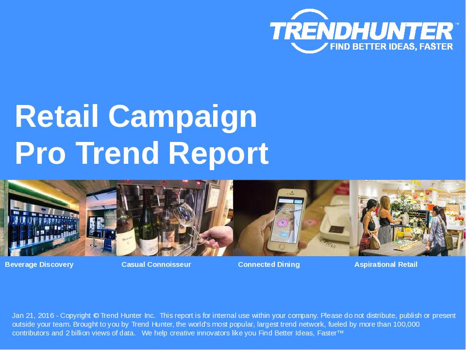 Retail Campaign Trend Report Research