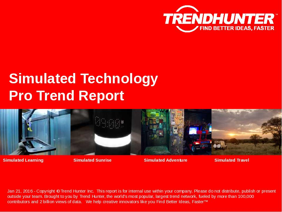 Simulated Technology Trend Report Research