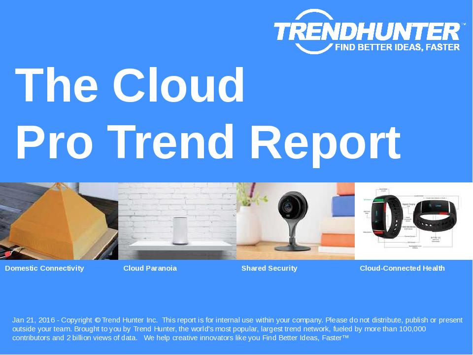 The Cloud Trend Report Research